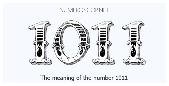 Angel number 1011 meaning