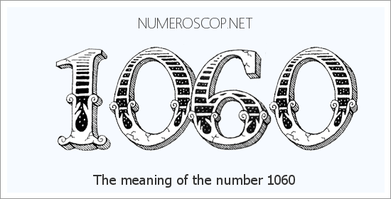 Angel number 1060 meaning