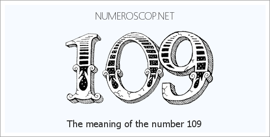 Angel number 109 meaning