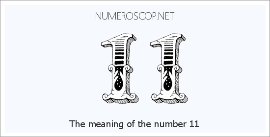 Angel number 11 meaning