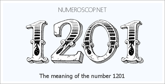 Angel number 1201 meaning