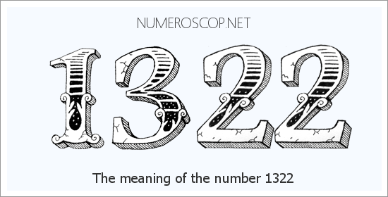 Angel Number 1322 – Numerology Meaning of Number 1322