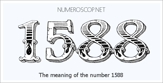 Meaning of 1588 Angel Number - Seeing 1588 - What does the number ...