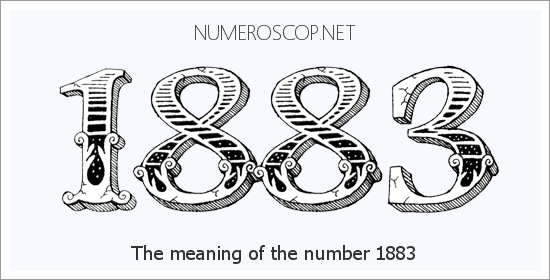 Meaning of 1883 Angel Number - Seeing 1883 - What does the number ...