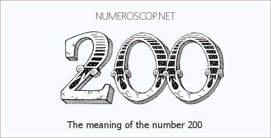 Angel number 200 meaning