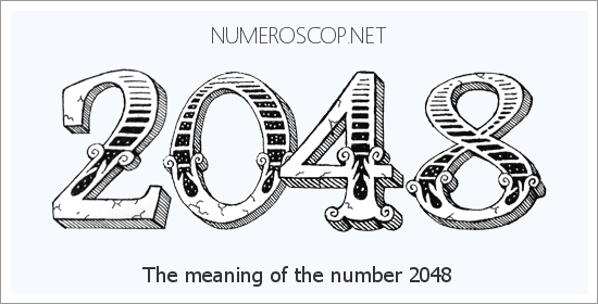 Angel number 2048 meaning