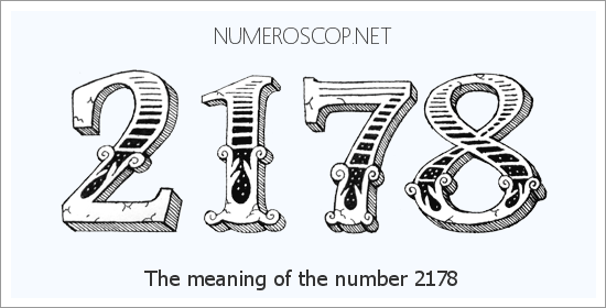 Angel number 2178 meaning