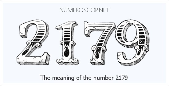 Angel number 2179 meaning