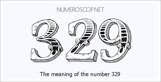 Angel number 329 meaning