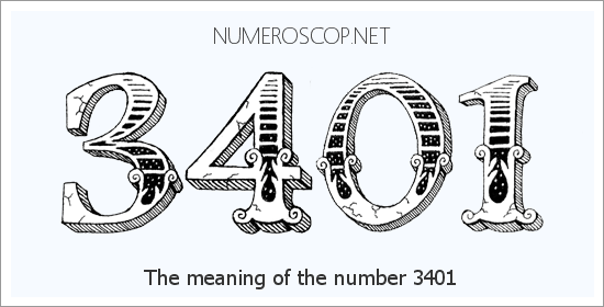 Angel Number 3401 – Numerology Meaning of Number 3401