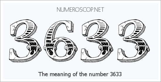 Angel Number 3633 – Numerology Meaning of Number 3633