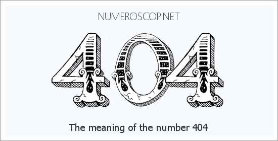 Angel number 404 meaning
