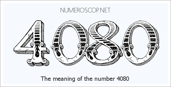 Angel number 4080 meaning