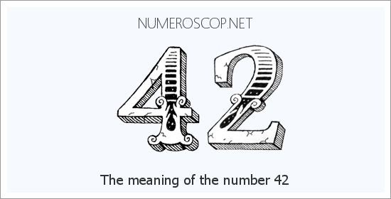 Angel number 42 meaning