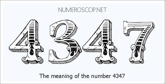 Angel Number 4347 – Numerology Meaning of Number 4347