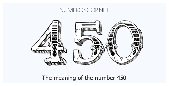 Angel number 450 meaning