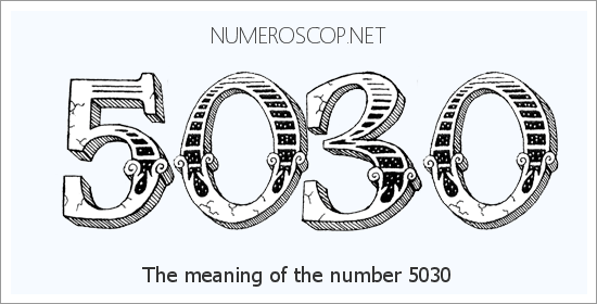 Angel number 5030 meaning