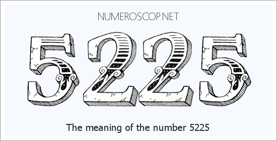 Angel Number 5225 – Numerology Meaning of Number 5225