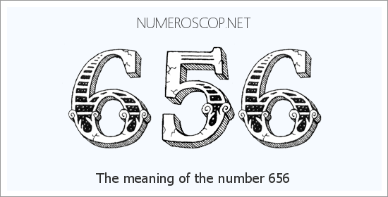Angel number 656 meaning