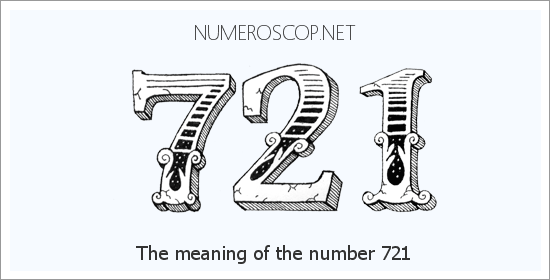 Angel number 721 meaning