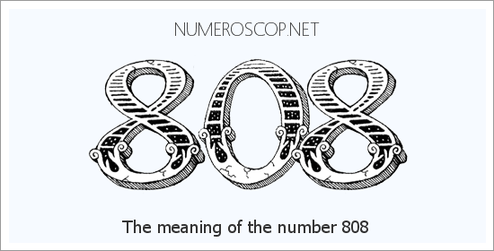 Angel number 808 meaning