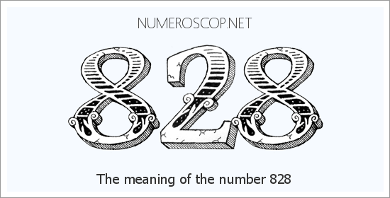 Angel number 828 meaning
