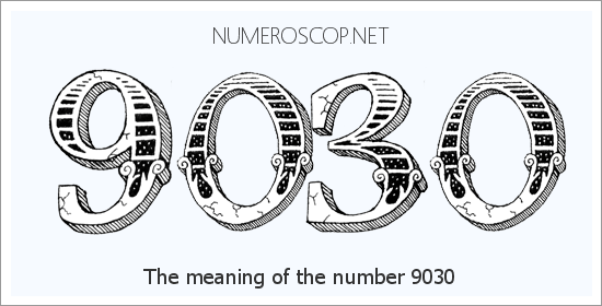 Angel number 9030 meaning