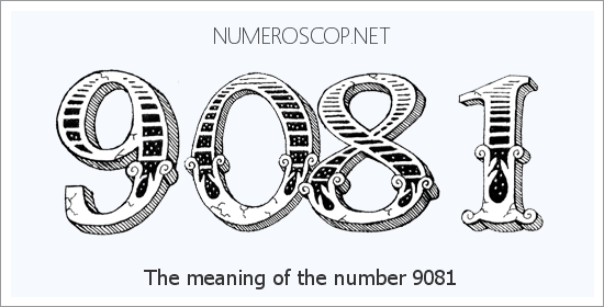 Angel number 9081 meaning