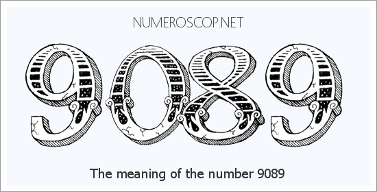 Angel number 9089 meaning