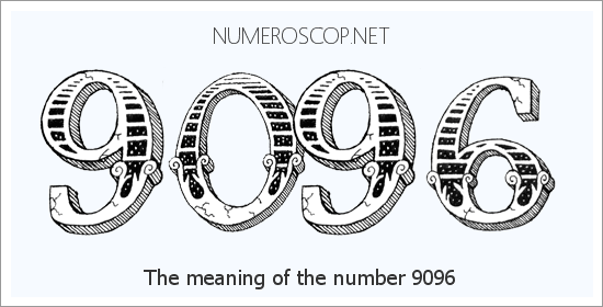 Angel number 9096 meaning