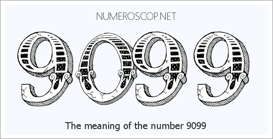 Angel number 9099 meaning