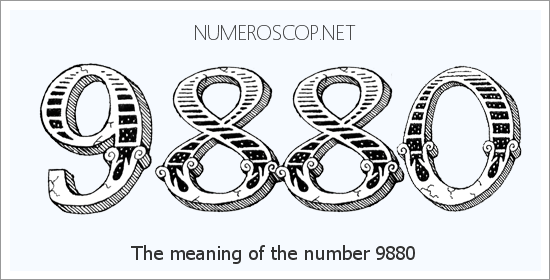 Angel number 9880 meaning