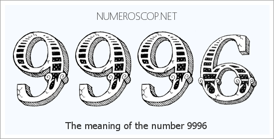 Angel Number 9996 – Numerology Meaning of Number 9996